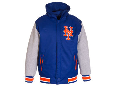 New York Mets MLB Youth Twylon Reversible Jacket