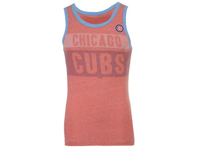 Chicago Cubs New Era MLB Men's Tri-Blend Jersey Tank
