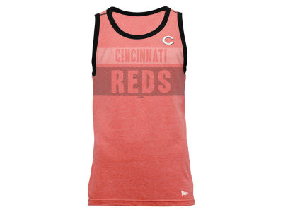 Cincinnati Reds New Era MLB Men's Tri-Blend Jersey Tank