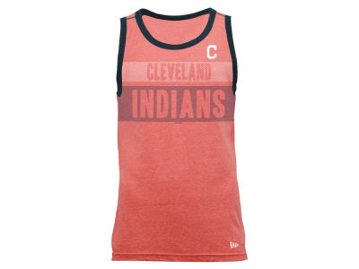 Cleveland Indians New Era MLB Men's Tri-Blend Jersey Tank