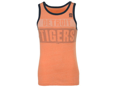 Detroit Tigers New Era MLB Men's Tri-Blend Jersey Tank