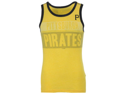 Pittsburgh Pirates New Era MLB Men's Tri-Blend Jersey Tank