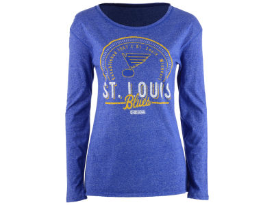 St. Louis Blues NHL Women's Vintage Circle Long Sleeve T-Shirt