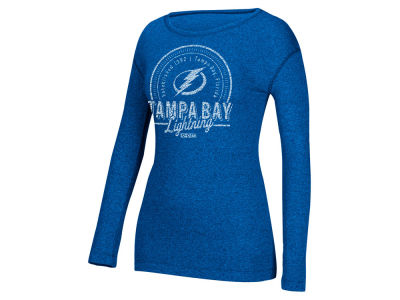 Tampa Bay Lightning NHL Women's Vintage Circle Long Sleeve T-Shirt