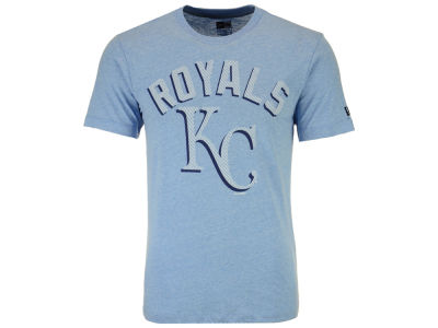 Kansas City Royals New Era MLB Men's Shadow Tri-Blend T-Shirt