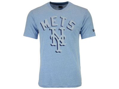 New York Mets New Era MLB Men's Shadow Tri-Blend T-Shirt