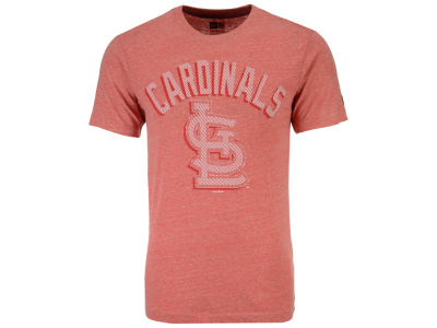 St. Louis Cardinals New Era MLB Men's Shadow Tri-Blend T-Shirt