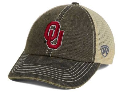 Oklahoma Sooners Top of the World NCAA Wicker Mesh Cap