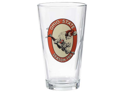 Ohio State Buckeyes 16oz 100th Anniversary 1916 Pint Glass