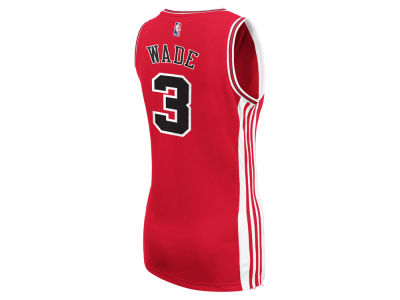 Chicago Bulls Dwyane Wade adidas NBA Womens Replica Jersey