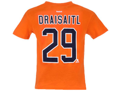 Edmonton Oilers Leon Draisaitl Outerstuff NHL CN Kids Player T-Shirt