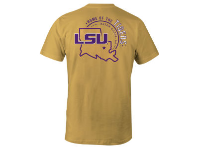 LSU Tigers NCAA Men's Home State T-Shirt