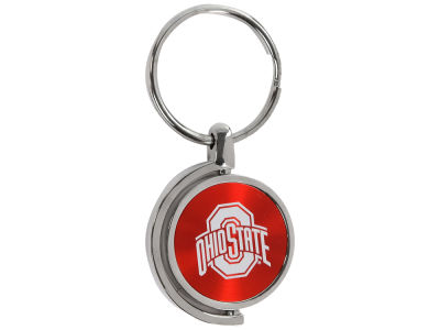 Ohio State Buckeyes CD Effect Spinner Keytag