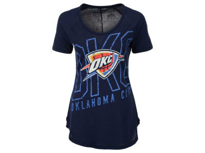 Oklahoma City Thunder Majestic NBA Women's Fanatic Force T-Shirt