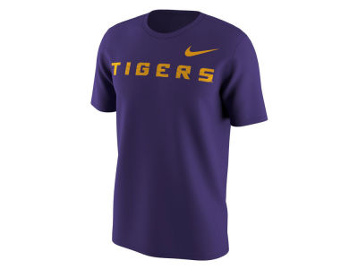LSU Tigers Nike NCAA Men's Benassi Cotton T-Shirt