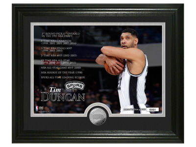 San Antonio Spurs Tim Duncan 11x17 Legacy Photo Mint