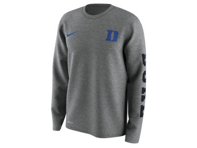 Duke Blue Devils Nike NCAA Men's 2.0 Hook Legend Long Sleeve T-Shirt