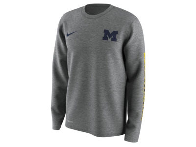 Michigan Wolverines Nike NCAA Men's 2.0 Hook Legend Long Sleeve T-Shirt