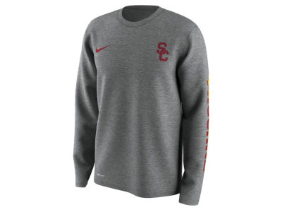 USC Trojans Nike NCAA Men's 2.0 Hook Legend Long Sleeve T-Shirt