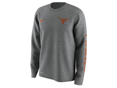 Texas Longhorns Nike NCAA Men's 2.0 Hook Legend Long Sleeve T-Shirt
