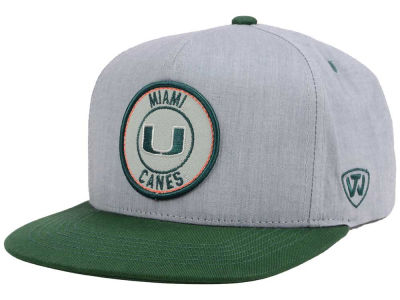 Miami Hurricanes Top of the World NCAA Illin Snapback Cap