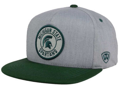 Michigan State Spartans Top of the World NCAA Illin Snapback Cap