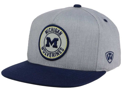 Michigan Wolverines Top of the World NCAA Illin Snapback Cap