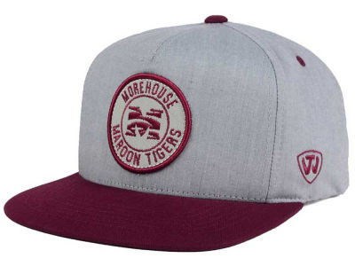 Morehouse Maroon Tigers Top of the World NCAA Illin Snapback Cap