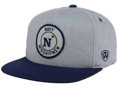 Navy Midshipmen Top of the World NCAA Illin Snapback Cap