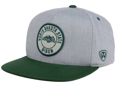 North Dakota State Bison Top of the World NCAA Illin Snapback Cap