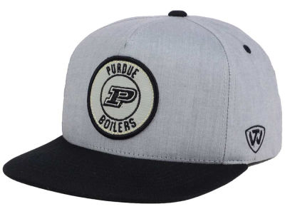 Purdue Boilermakers Top of the World NCAA Illin Snapback Cap