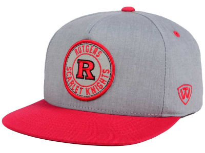 Rutgers Scarlet Knights Top of the World NCAA Illin Snapback Cap