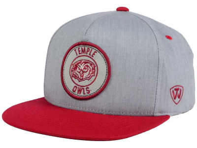 Temple Owls NCAA Illin Snapback Cap