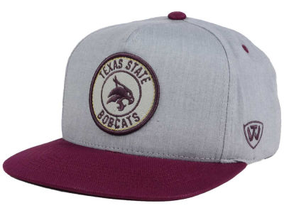 Texas State Bobcats Top of the World NCAA Illin Snapback Cap