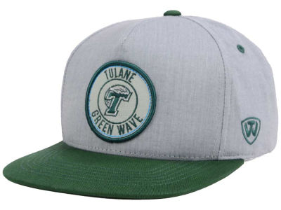Tulane Green Wave Top of the World NCAA Illin Snapback Cap