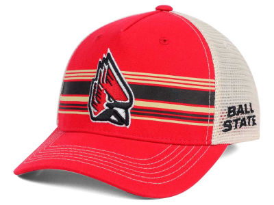 Ball State Cardinals Top of the World NCAA Sunrise Adjustable Cap