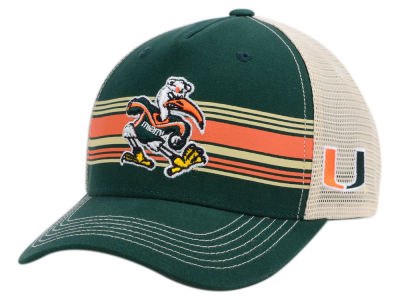 Miami Hurricanes Top of the World NCAA Sunrise Adjustable Cap
