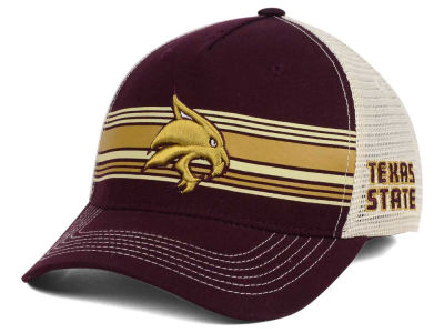 Texas State Bobcats Top of the World NCAA Sunrise Adjustable Cap
