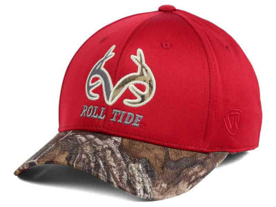 Alabama Crimson Tide Top of the World NCAA Region Stretch Cap