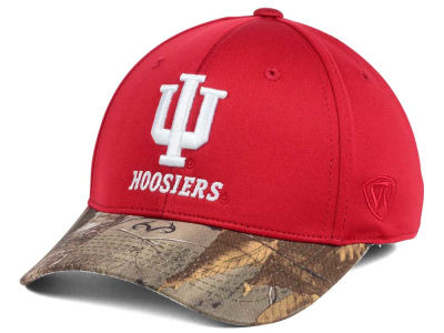 Indiana Hoosiers Top of the World NCAA Region Stretch Cap