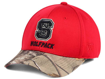 North Carolina State Wolfpack Top of the World NCAA Region Stretch Cap