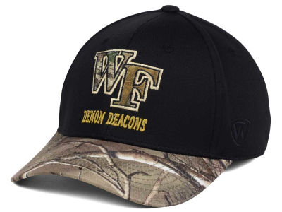 Wake Forest Demon Deacons Top of the World NCAA Region Stretch Cap