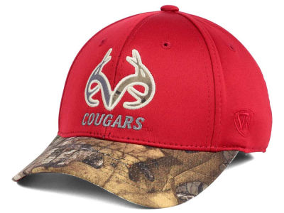 Washington State Cougars Top of the World NCAA Region Stretch Cap