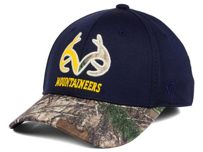 West Virginia Mountaineers Top of the World NCAA Region Stretch Cap