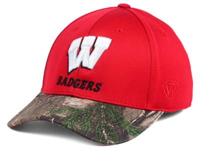 Wisconsin Badgers Top of the World NCAA Region Stretch Cap