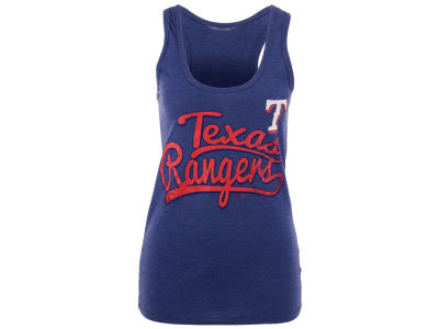 Texas Rangers 5th & Ocean MLB Women's Scripty Tank