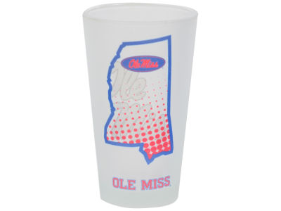 Ole Miss Rebels 16oz State of Mind Pint Glass