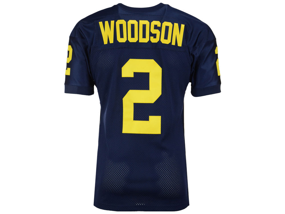 finest selection a0a51 1e394 michigan wolverines 2 charles woodson navy blue kids jersey