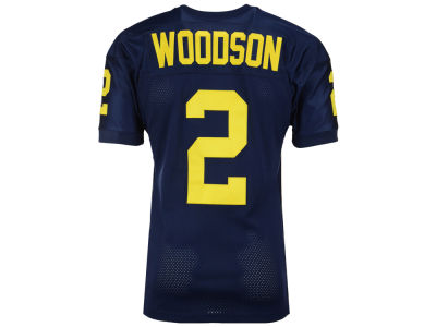 Michigan Wolverines Charles Woodson '47 NCAA Men's Throwback Football Jersey