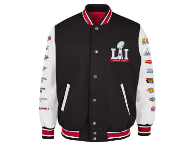 Super Bowl LI GIII NFL Men's Super Bowl LI Game Ball Jacket
